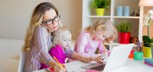 Working from home with kids – staying sane and productive