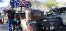 Logan man combines vehicle 'souls' to build rat rod from the ground up