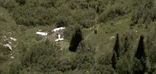 Authorities identify 4 killed in American Fork Canyon plane crash