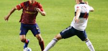 Shorthanded Real Salt Lake drops second straight home match, 2-1 to Vancouver