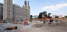 Salt Lake Temple renovation reaches 'hardest stage' with work on foundation underway