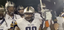 Have You Seen This? Football player tries to run onto field with chainsaw