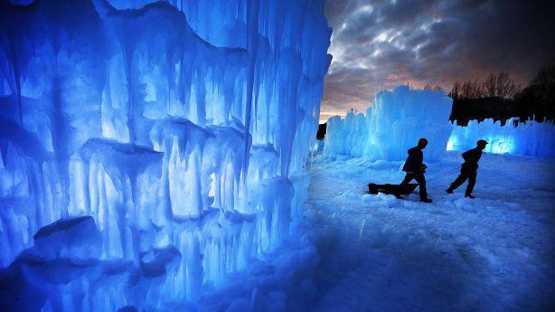 Midway Ice Castles prepares for anniversary season with coronavirus precautions in mind