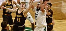 Aimaq double-double sets school rebounding record in Utah Valley's loss to Wyoming