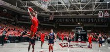 Southern Utah rallies twice to hand Dixie State its first loss in D-I era, 85-78