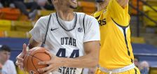 Anthony helps Utah State pull away from Northern Colorado, 63-50
