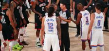 NBA postpones Thunder-Rockets game, Harden fined