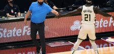 Bucks set NBA record for 3s, roll past Heat 144-97