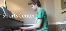 Have You Seen This?: Young pianist plays beautiful medley of sports TV themes