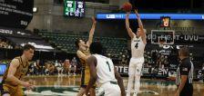 Game-winning trey helps UVU's Woodbury rebound to lead Wolverines to 3-0 start in WAC