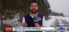 Have You Seen This? Weatherman is not cool with this snow