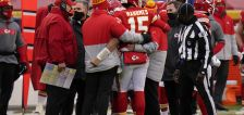 Chiefs' Reid: QB Mahomes 'doing good' after concussion