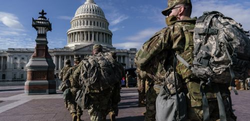 FBI vetting Guard troops in DC as fear of insider attack among security concerns