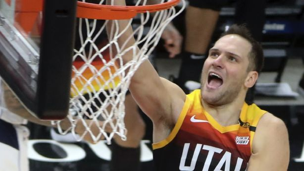 'Uh oh': Bojan Bogdanovic, Jazz send strong message to rest of league with 11th straight win