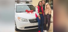 Teen Chick-fil-A employee wins car at company party, gifts it to co-worker