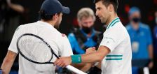 Pain-free Djokovic ends Karatsev run to reach ninth final