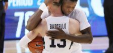 'Alex is gnarly': Big dunk from Lohner, career night from Barcello lead BYU to 3rd straight win