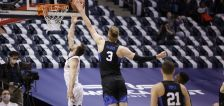 Matt Haarms named Defensive POY as BYU basketball takes 4 West Coast Conference honors