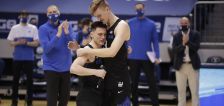 Senior trio, Knell rally BYU basketball to end regular season with home win over Saint Mary's