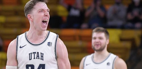 Utah State earns 2nd seed in MWC tourney by beating Fresno State in regular-season finale