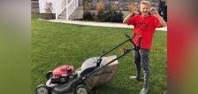 12-year-old Springville boy awarded for mowing 50 lawns in nationwide 50 Yard Challenge