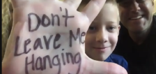 Qualtrics teams up with 8-year-old cancer survivor to raise money in longest virtual high-five train