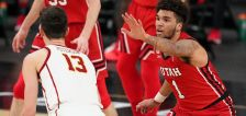 Utes push Trojans to 2OT but fall 91-85 in quarterfinals as 4 players foul out