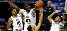 Queta on full display as Utah State beats Colorado State to pull into Mountain West final