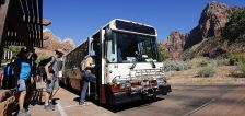 Zion National Park proposes increase to temporary shuttle ticket costs as attendance soars