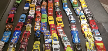 Have You Seen This? 100 mini cars battle it out on the treadmill