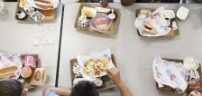 Children's healthiest meals of the day come from school cafeterias