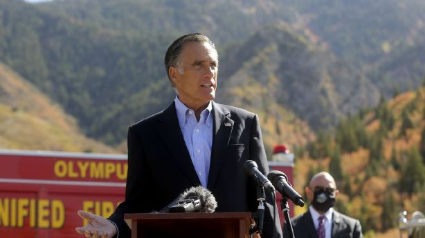 What Mitt Romney, John Curtis want to do after wildfires char the land