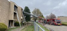 70 evacuated after fire at Midvale apartment building