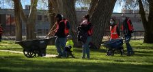 Summer days of service project begins at West Valley City park