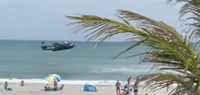 Have You Seen This? Torpedo bomber invades Florida beach