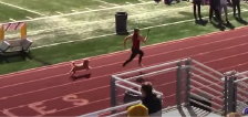 Pup movin' on up: Dog races past competition at recent Logan High track meet