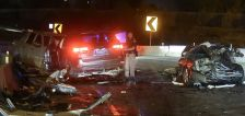 Man arrested in fatal wrong-way crash on freeway charged in domestic violence incident