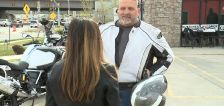 Motorcycle crash survivor shares story as new safety campaign begins