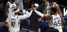 Utah guard Mike Conley explains how his injury began; Jazz to expand capacity to 13K for playoffs