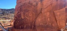 'This is not an accident': Well-known Moab petroglyph vandalized; $10K reward offered in case