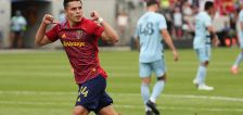 Rubio's brace, Brody's debut rally Real Salt Lake to 3-1 win in home opener