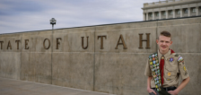 How one Utah teen's Eagle Scout project is increasing organ donation awareness