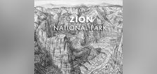 The legendary artist behind most of Utah's ski maps now takes on national parks
