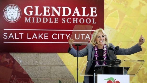 What Jill Biden did in one of Salt Lake City's most diverse neighborhoods