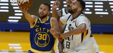 Jazz erase 18-point deficit, but fall to Warriors on clutch Curry 3-pointer