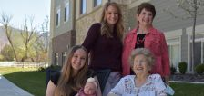 Five generations of women gather for rare family photo
