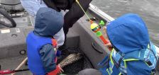 Have You Seen This? Kid catches huge fish on first try