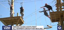 All-women veterans group finds help with PTSD at Heroes Haven
