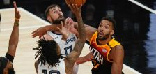 'I just try to do what I do': Rudy Gobert and Ja Morant revel in high-flying meet ups at the rim