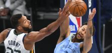 'I know he's watching': Rudy Gobert honors Mark Eaton on and off the court